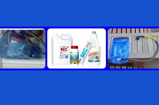 Poche eau Camelbak : Comment les nettoyer ?