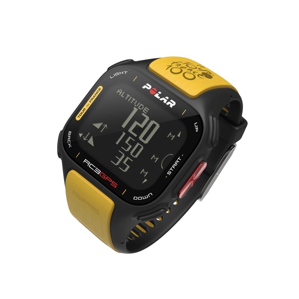 Polar RC3 GPS : La montre cardio gps se met au jaune !