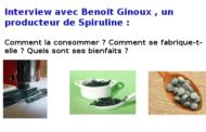 Effets spiruline : interview de Benoit Ginoux, producteur de spiruline