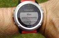 Test montre GPS Garmin Fenix 3 : les entrainements