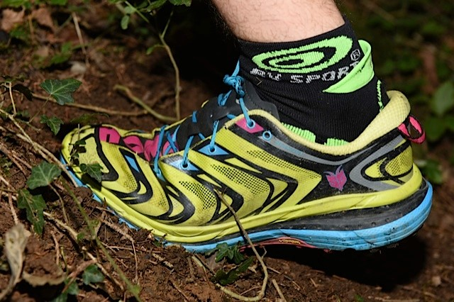 chaussures Hoka SpeedGoat en montée