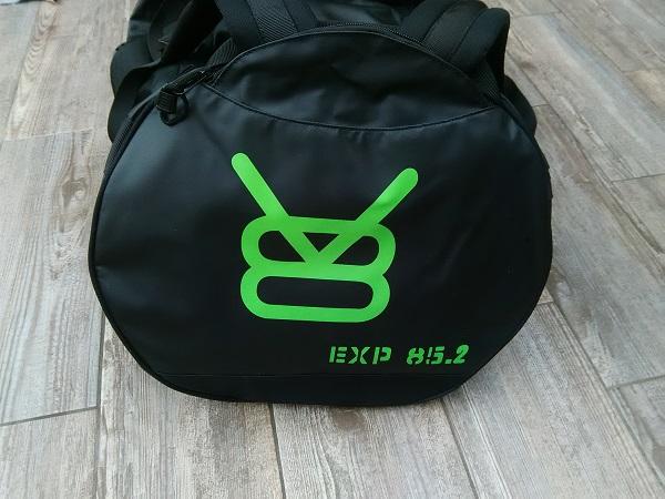 test sac de voyage V8 Equipment EXP 85.2