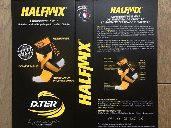 Test chaussettes running D.Ter Halfmix