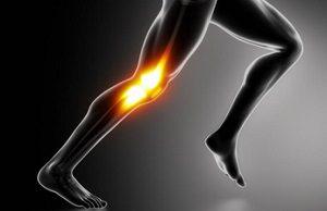mal genou et course à pied