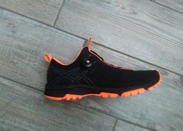 Chaussure avec système Boa