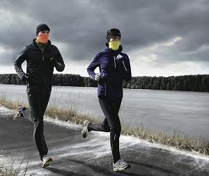 tenue running en hiver
