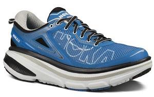 Le look de ces chaussures de course a pied peut toujours surprendre. © Hoka