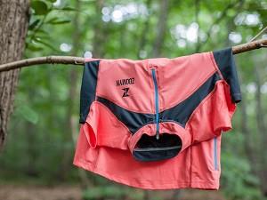 Vous pouvez voir le maillot Aida. © Equipement trail Zoomyn