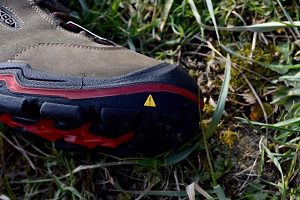 chaussures Keen Wanderer WP toe box