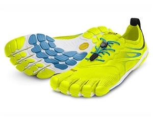 11f5bd63926 ... chaussures minimalistes vibram fivefingers bikila evo jaune bleu homme