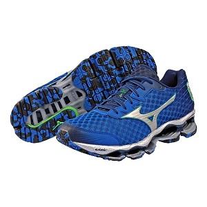 Ces chaussures running sont le haut de gamme de la marque. © Mizuno