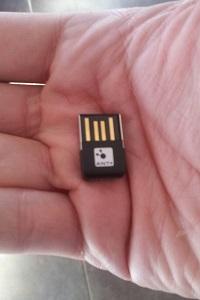 Voila la micro clé USB ANT+ © Testeurs Outdoor