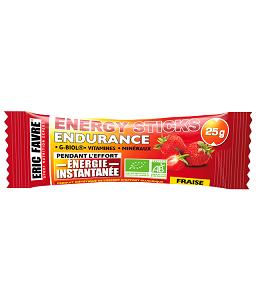 Alimentation marathon : Ceci est le gel énergétique de la marque. © EricFavre.com