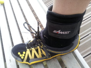 Zamst et une chaussure minimaliste