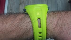Vous pouvez voir cette montre GPS Timex de profil. © Testeurs-Outdoor