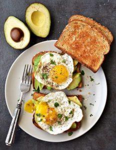 petit dejeuner sportif salé