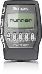 Voilà l'appareil electrostimulation Compex Runner que je teste... © Compex
