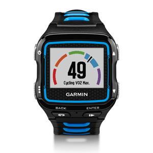 En cyclisme ou en running, cette montre GPS Garmin 920XT pourra estimer votre VO2Max. © Garmin