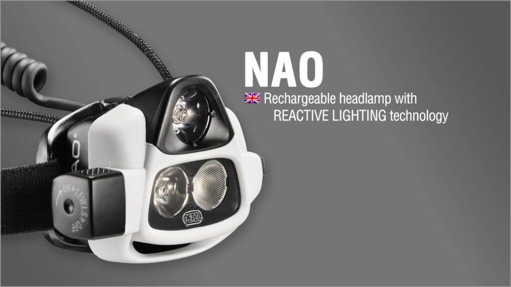 Lampe Frontale Petzl Nao Reactive Lighting Et La Lumiere Revient