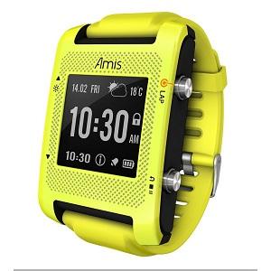 Ces montres GPS Bryton Amis sont capables de vous informer sur la météo. © Bryton