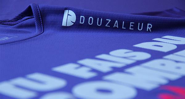 tee shirt running douzaleur