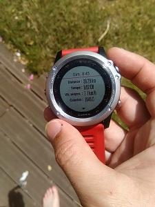 De très nombreuses données sont accessibles directement sur votre montre GPS Garmin© Testeurs Outdoor