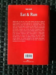 Le 4ème de couverture est aussi sobre que la couverture de ce livre de Scott Jurek. © Testeurs-Outdoor