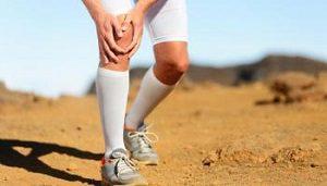 mal genou course à pied