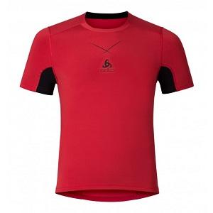 Tee shirt Odlo CeramiCool rouge
