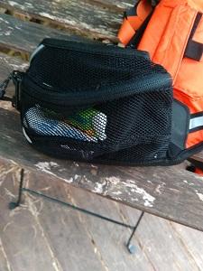pochette latérale de la ceinture running Source