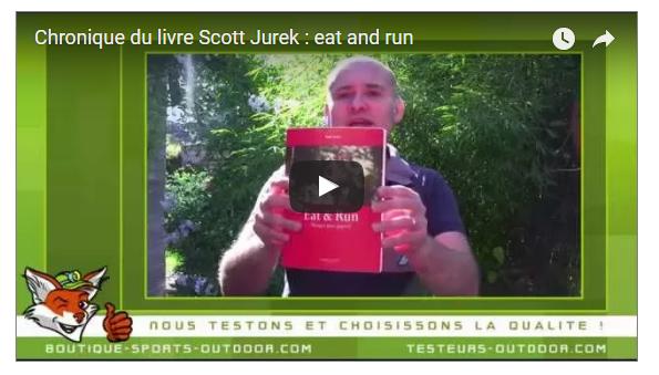 Chronique livre Scott Jurek : eat and run