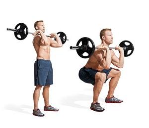 squats devant