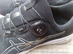 Test chaussure Asics Dynamis : voulez vous d'un boa ?