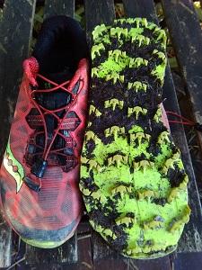 Test chaussure Saucony Koa ST - semelle extérieure