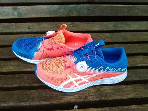 asics running homme test