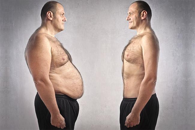 perdre de la graisse couvrant les muscles