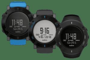 Quelques modèles de montres GPS Suunto