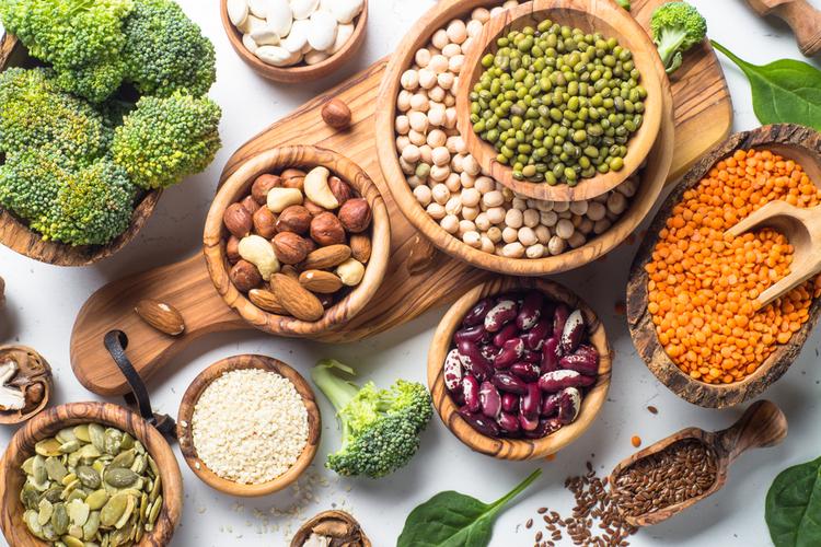 Protéines végétales pour sportifs