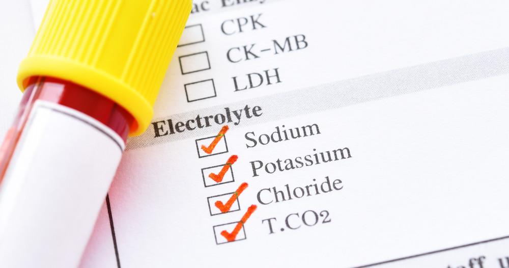 Électrolytes pendant l'effort