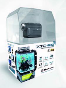 La boite de la camera Midland XTC 400