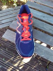 Voilà la chaussure New Balance 1080 V5 que je vais tester. © Testeurs Outdoor