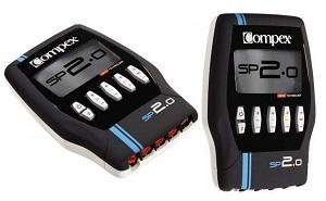 Voiçi le nouveau electrostimulateur Compex SP2. © Compex