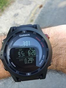 Montre GPS Garmin : Vous pouvez voir ici plusieurs lignes. © Testeurs Outdoor