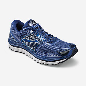 Brooks Glycerin 12 en version bleu foncé... © Brooksrunning.fr
