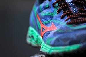 Les chaussures Mizuno Wave Kazan son des chaussures de trail. © Testeurs-Outdoor