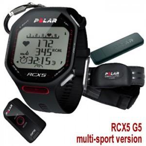 La montre GPS Polar RCX5 possède beaucoup d'accessoires... © Polar
