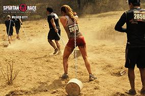 Etes vous prêt à tirer un boulet lors de cette Reebok Spartan Race ? © Spartan Race