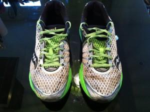 Test Saucony Triumph : Les chaussures utilisées