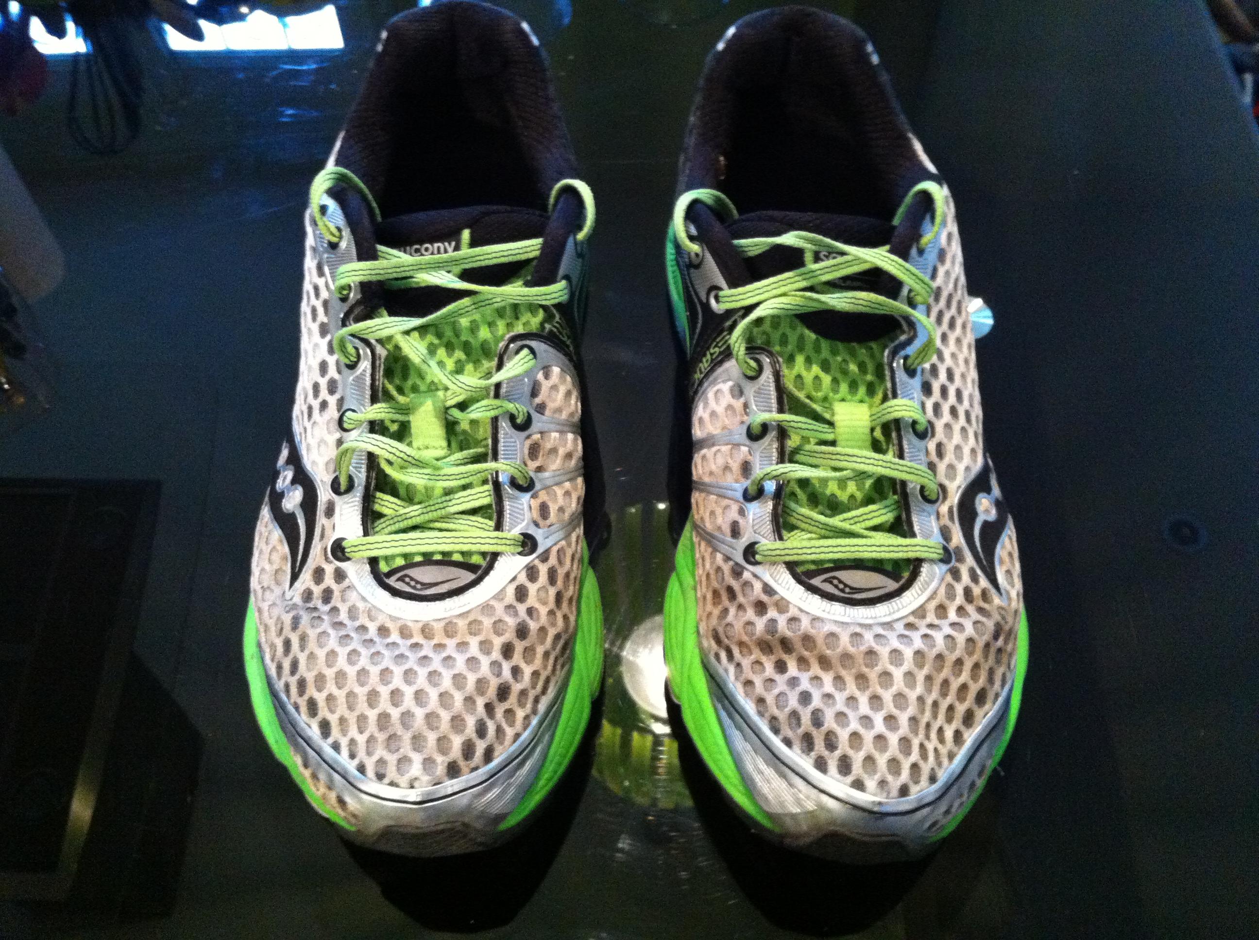 98d41b4feb8 Test Saucony Triumph   Les chaussures utilisées