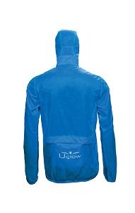 Vous pouvez voir la face arrière de cette veste running Uglow. © Uglow